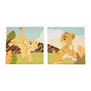 Disney Lion King 2-pc. Wall Art