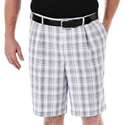 Haggar® Cool 18® Flat-Front Shorts - Big & Tall