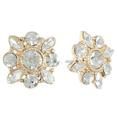 Monet Jewelry White Stud Earrings