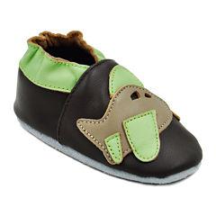 Momo Baby Airplane Boys Crib Shoes-Baby