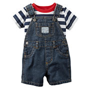Carter's 2-pc. Shortall Set Baby Boys