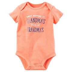 Carter's Short Sleeve Bodysuit - Baby Boy