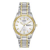 Citizen® Eco-Drive® Mens Two-Tone Watch BM8434-58A