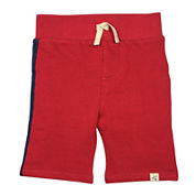 Burt's Bees Baby™ Striped Piqué Shorts - Baby Boys 12m-24m