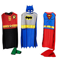 DC Comics Action Trio Child Costume Kit - One-Size