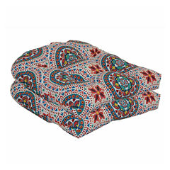 Outdoor Oasis™ 2 Pack Chair Cushion