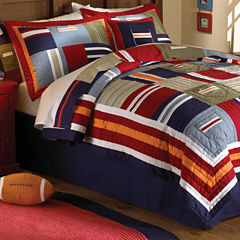 Ronnie Patchwork Quilt Set
