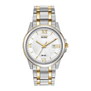 Citizen® Eco-Drive® Mens Two-Tone Bracelet Watch BM7264-51A