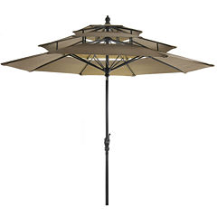 Lucia 9' 3-tier Umbrella