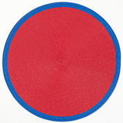 jcp EVERYDAY™ Set of 4 Border Round Placemats