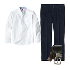 IZOD® Oxford Shirt or Flat Front Pants - Preschool Boys 4-7 and Slim