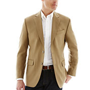 Stafford® Executive Tan Hopsack Blazer - Classic