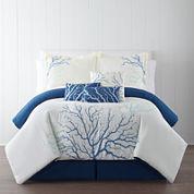 Panama Jack® Coral 7-pc. Comforter Set