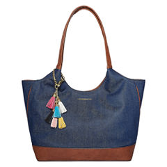 Liz Claiborne Jordan Shopper Shoulder Bag