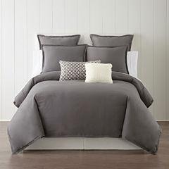 Studio™ Caden Linen Blend 3-pc. Comforter Set & Accessories