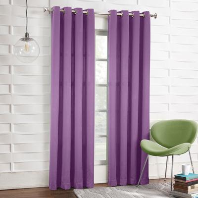 sun zero garrett grommettop curtain panel