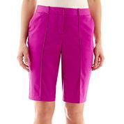 Worthington® Sateen Bermuda Shorts