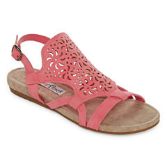 2 Lips Too Clare Womens Flat Sandals