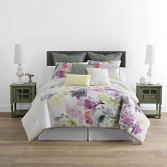 JCPenney Home™ Watercolor Floral 4-pc. Comforter Set