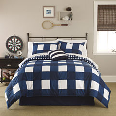 IZOD® Buffalo Plaid Comforter Set