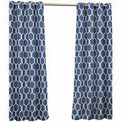 Parasol Totten Key Trellis Indoor/Outdoor Grommet-Top Curtain Panel