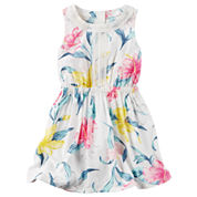 Carter's Sleeveless A-Line Dress - Preschool Girls