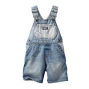 OshKosh B'gosh® Denim Shortalls - Baby Boys 6m-24m