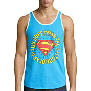 Novelty Superman Tank Top