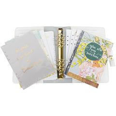 Webster's Pages Personal Planner Kit - Teal Stripe