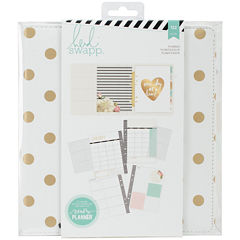 American Crafts Large Gold Foil Dots Planner