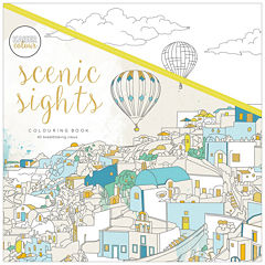 Kaisercraft Scenic Sights Coloring Book