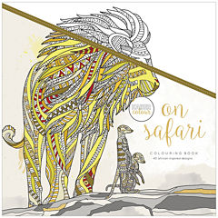 Kaisercraft On Safari Coloring Book