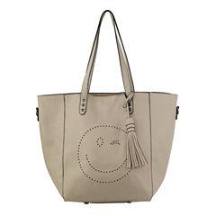 Olivia Miller Norah Perf Wink Emoji Tote Tote Bag