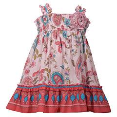 Bonnie Jean Sleeveless Sundress - Toddler Girls