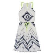 Speechless® Sleeveless V-Neck Skater Dress - Girls 7-16