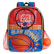 Basketball with Fold-Out Hoop Backpack
