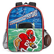Football with Fold-Out Field Goal Backpack