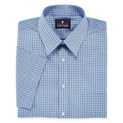 Stafford® Short-Sleeve Easy-Care Broadcloth Dress Shirt