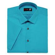 JF J. Ferrar® Short-Sleeve Slim Fit Dress Shirt