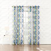 Keone Grommet-Top Curtain Panel