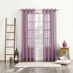 Delino Grommet-Top Curtain Panel