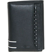 Buxton® Luciano RFID Leather Tri-Fold