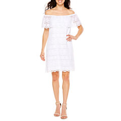 Ronni Nicole Lace Shift Dress