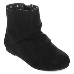 Okie Dokie® Landers Girls Boots - Toddler