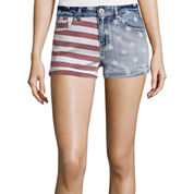 Vanilla Star® Allover Print Americana Denim Shorts