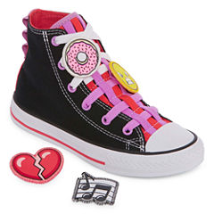 Converse Chuck Taylor All Star Loopholes Girls Sneakers - Little Kids