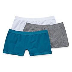 Real 3-pc. Knit Boyshort Panty