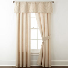 Home Expressions Arden Rod-Pocket Curtain Panel