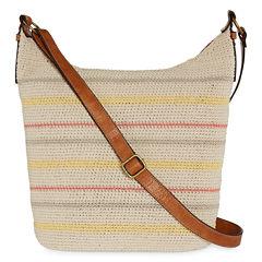 St. John's Bay® Tia Crochet Hobo Bag