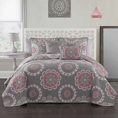 Avondale Manor Elsa 5-pc. Midweight Reversible Quilt Set